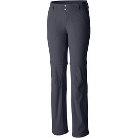 Columbia Saturday Trail II Convertible Pantalones Normal Mujer, india ink
